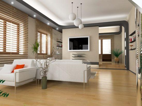 וילון מודרני לסלון הבית